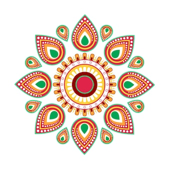 Gelukkige ugadi gudi padwa hindoe nieuwjaar wenskaart vakantie
