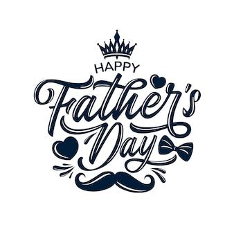 Gelukkige vaderdagviering groeten.