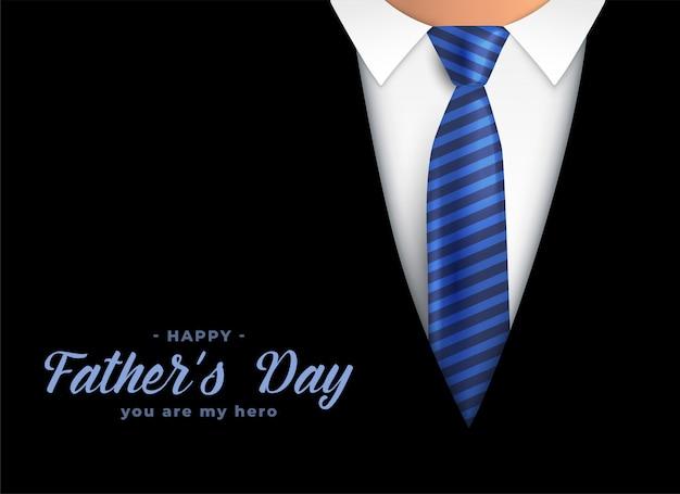 Gelukkige vaders dag held vader achtergrond