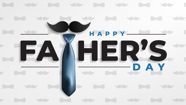 Gelukkige vaders dag wenskaart