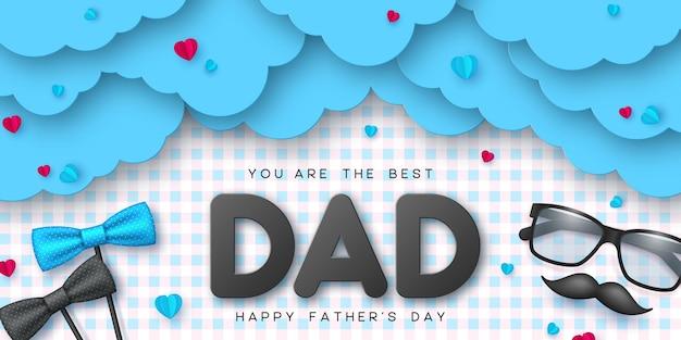 Gelukkige vaders dagkaart