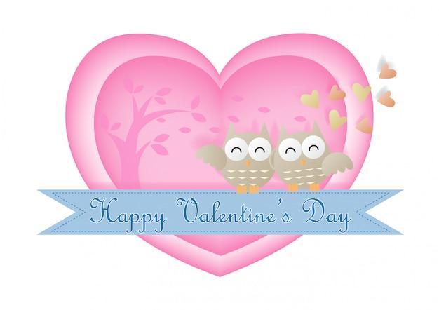 Gelukkige valentijnsdag achtergrond.