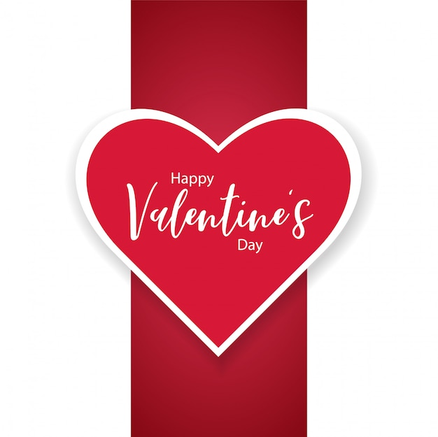Gelukkige valentijnsdag achtergrond