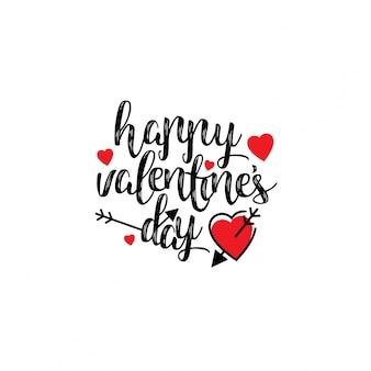 Gelukkige Valentijnsdag stijlvol