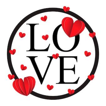 Gelukkige valentijnskaartendag en het wieden van ontwerpelementen