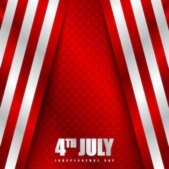 Gelukkige van de achtergrond onafhankelijkheidsdag van amerika illustratie
