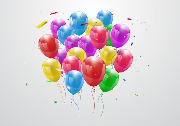 Gelukkige verjaardag ballonnen