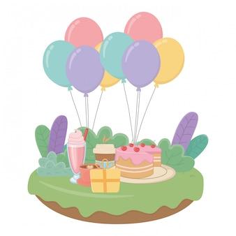 Gelukkige verjaardag verrassing
