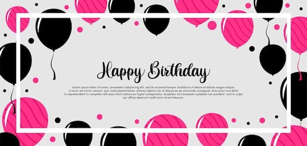 Gelukkige verjaardag vieren achtergrond