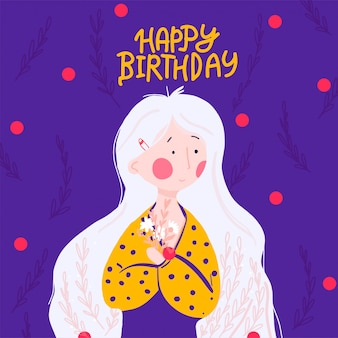 Gelukkige verjaardag wenskaarten ontwerp