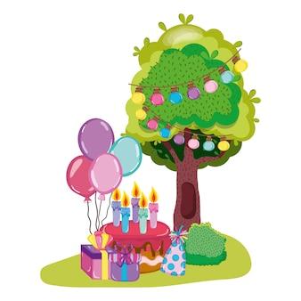 Gelukkige verjaardagscartoons
