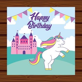 Gelukkige verjaardagskaart