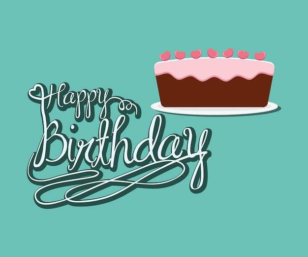 Gelukkige verjaardagspartij viering