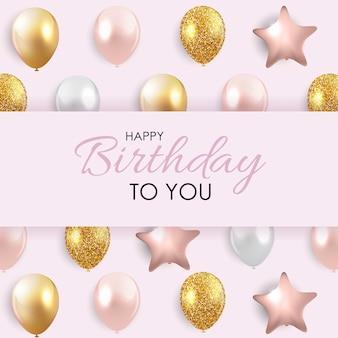 Gelukkige verjaardagswenskaart
