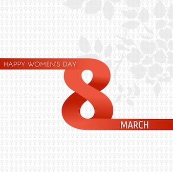 Gelukkige vrouwen dag 8 maart
