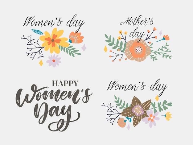 Gelukkige vrouwendag felicitatie