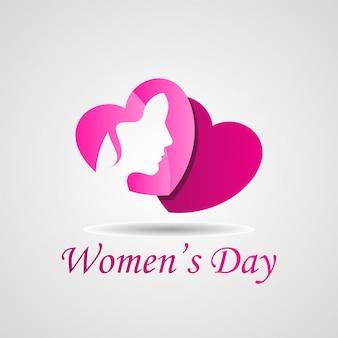 Gelukkige vrouwendag vectorillustratie