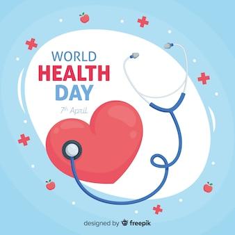 Gelukkige wereldgezondheidsdag