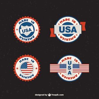 Gemaakt in de vs label-free