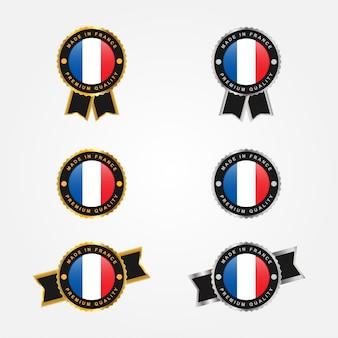 Gemaakt in frankrijk etiketten