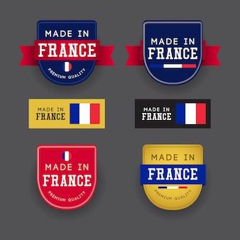 Gemaakt in frankrijk sjabloon