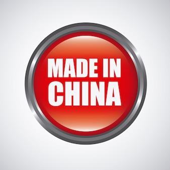 Gemaakt in het concept van china