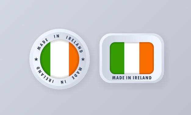 Gemaakt in ierland illustratie