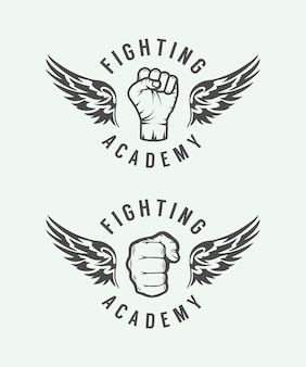 Gemengd vechtsportenlogo