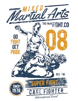 Gemengde vechtsporten