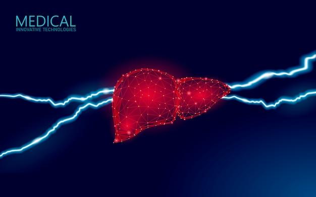 Geneeskunde lever hepatitis waarschuwing. diagnose van de menselijke gezondheid cirrose orgaansysteem pijnlijke ziekte. medische therapie spijsverteringsinfectie virus beschermen concept. illustratie.