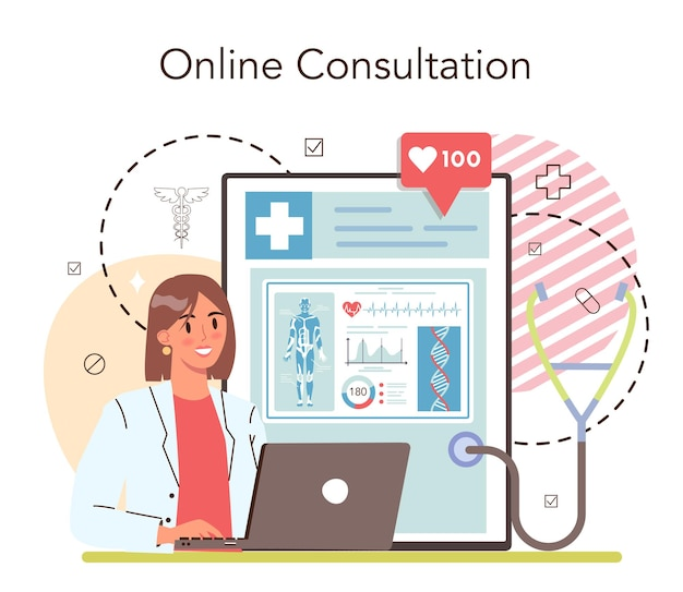 Geneeskunde online service of platform medisch specialist moderne geneeskunde