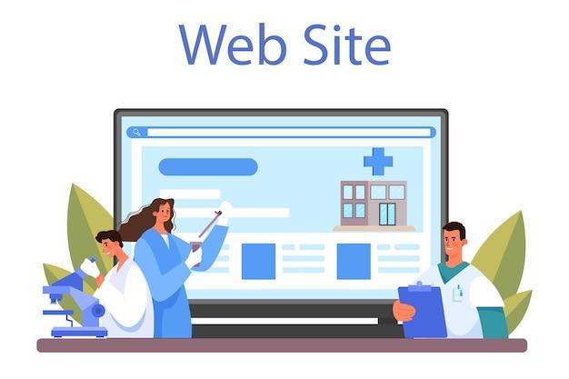 Geneeskunde online service of platform zorgspecialist