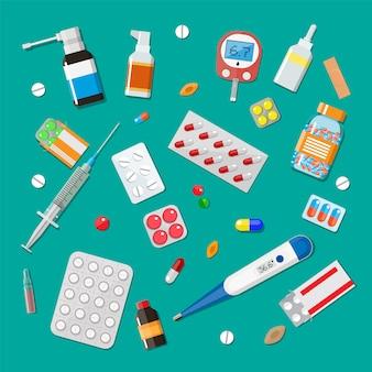 Geneeskunde pillen capsules en apparaten voor de gezondheidszorg