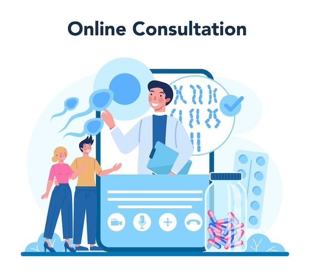 Geneticus online service of platform