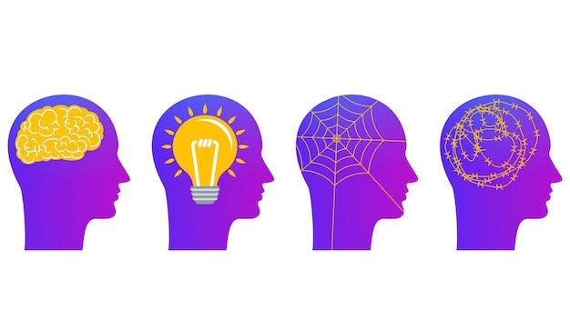 Genie, innovatie, depressie en paranoia. verschillende kenmerken van de menselijke geest.