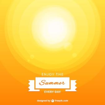 Geniet van de zomer vector