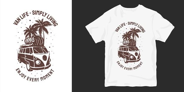 Geniet van elk moment dat t-shirt silhouetten ontwerpt