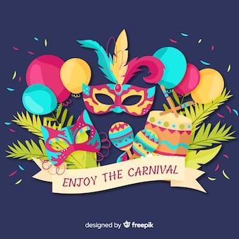 Geniet van het carnaval