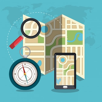 Geografisch locatiesysteem