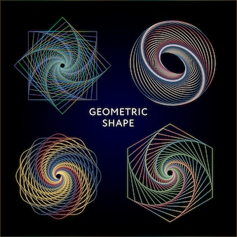 Geometrie symbolen collectie