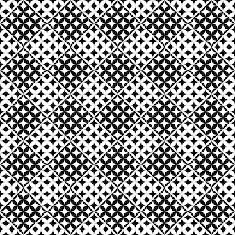 Geometrisch abstract gebogen ster naadloos patroonontwerp