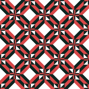 Geometrisch abstract naadloos patroon