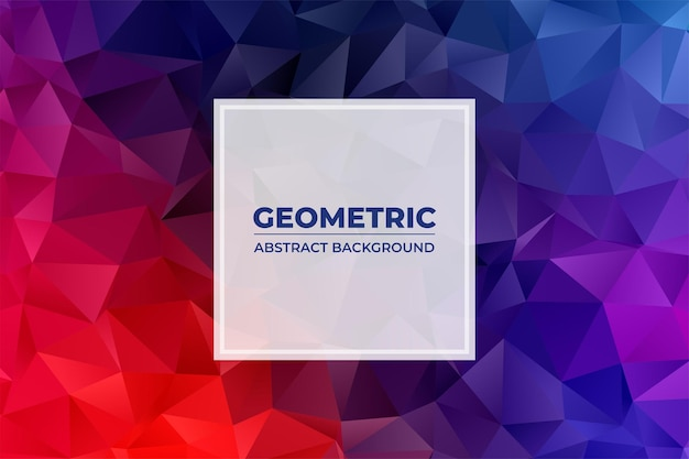 Geometrisch abstracte achtergrond