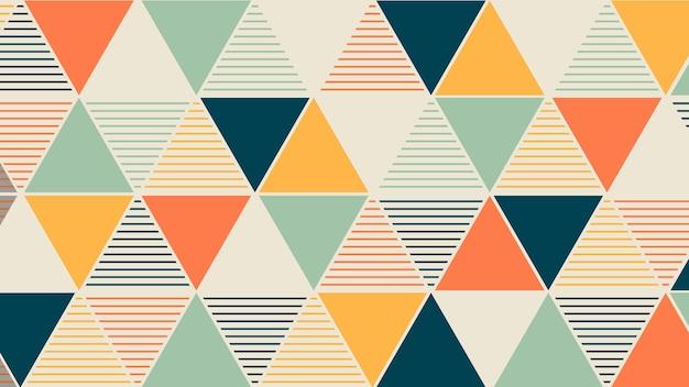 Geometrisch behang