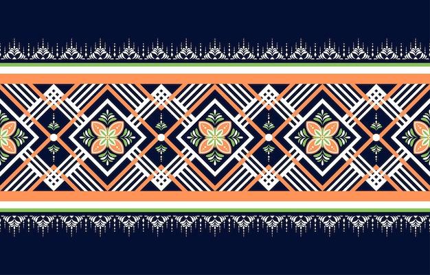 Geometrisch etnisch oosters naadloos patroon traditioneel