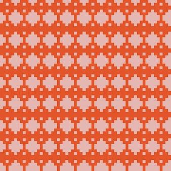 Geometrisch gebreid naadloos patroon voor print achtergrondbehang of inpakpapier