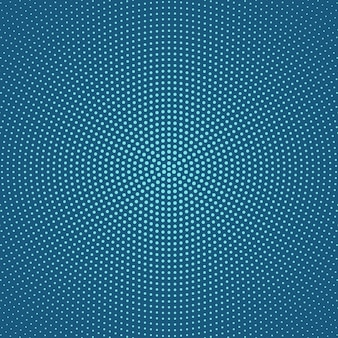 Geometrisch halftone cirkelvormig puntpatroonontwerp als achtergrond