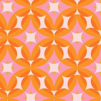 Geometrisch hip patroon