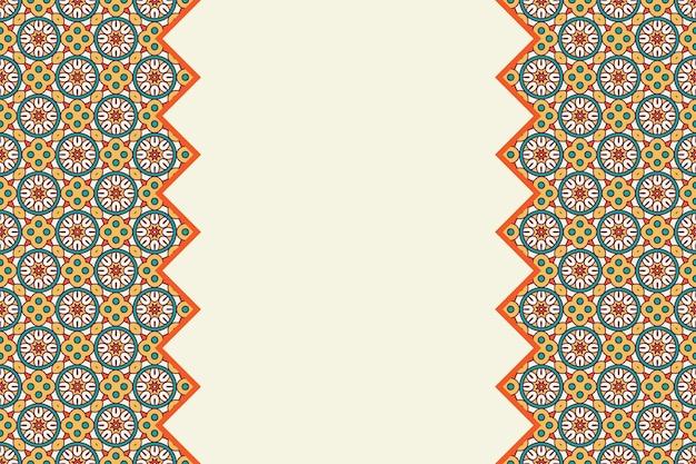 Geometrisch kleurrijk naadloos lineair patroon Gratis Vector