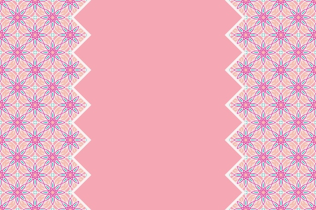 Geometrisch kleurrijk naadloos lineair patroon